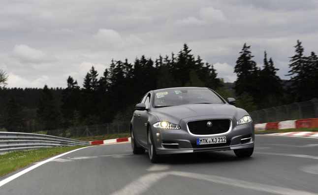 Jaguar XJ Supersport Joins 'Ring Taxi' Ranks