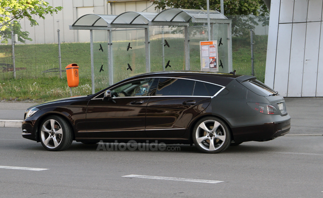 Mercedes-Benz CLS Shooting Brake Almost Undressed – Spy Photos