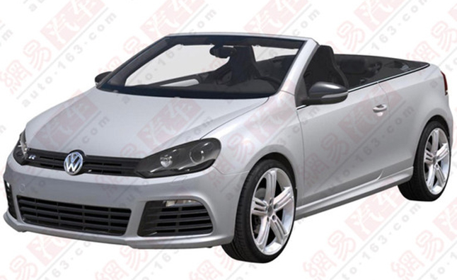 Volkswagen Golf R Cabriolet Patent Images Confirm Production