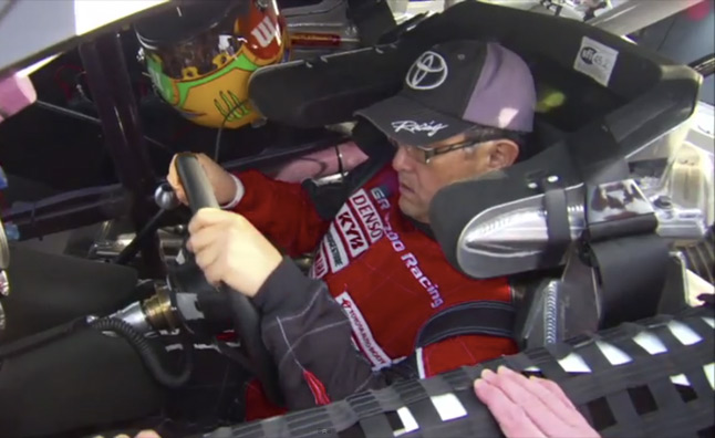 Toyota CEO Takes NASCAR Camry for a Spin – Video