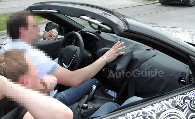 2013 BMW 4 Series Interior Revealed in Spy Photos