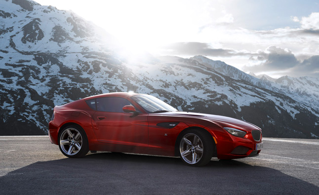BMW Zagato Coupe Unveiled