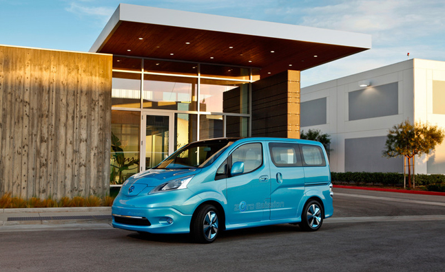 Nissan e-NV200 Electric Van Confirmed for Production