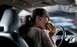 Eating While Driving Deadlier Than Texting Behind the Wheel, Study Shows