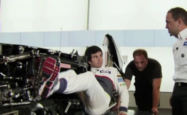 What a Formula 1 Car Looks Like Inside