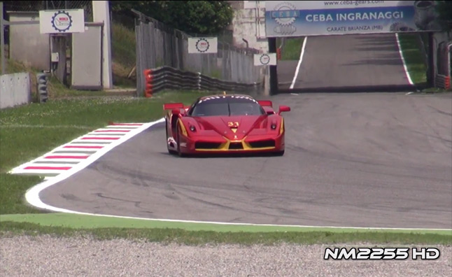 Ferrari FXX Evos Make Aural Bliss at Monza – Video