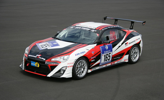 Toyota will Field Four GT 86 Race Cars, One LFA at 24 Hours of Nürburgring
