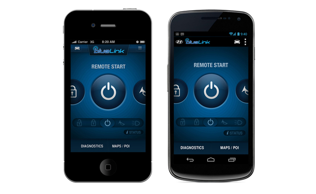 Hyundai Blue Link Mobile App Launched