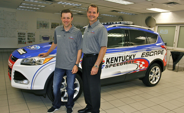 2013 Ford Escape will Pace Three NASCAR Races at Kentucky Speedway