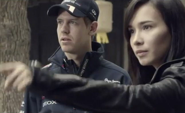 "F1 Champ Sebastian Vettel Stars in ""Kung Fu Vettel: Drive of the Dragon"" – Video"