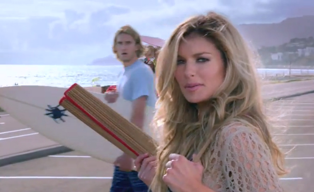 Marisa Miller Buick Enclave Ad Airs with Stunned Surfer