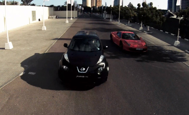 Nissan Juke-R Dubai Street Race Detailed in Video Series