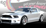Ford Shelby GT500 Custom Heading to Charity Auction