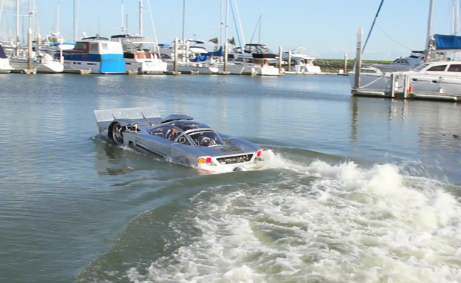 Project Sea Lion is a Ridiculous One-Off Amphibious Car