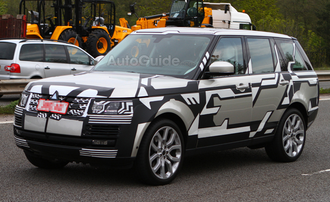 2013 Range Rover Spy Photos Show Production Car