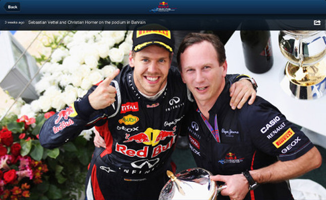 Red Bull Launches 'Racing Spy' App