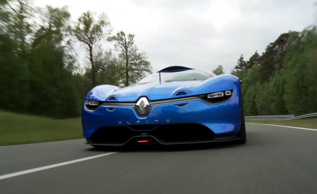 Renault Alpine A110-50 Concept Debuts in Video
