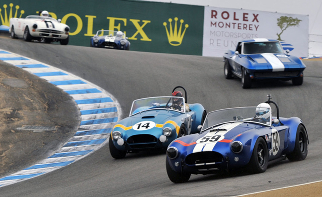 Shelby Cobras to Assemble at Monterey Motorsports Reunion