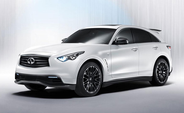 Infiniti FX50 Sebastian Vettel Edition to Cost Over $150,000