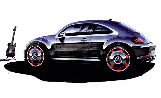 Volkswagen Beetle Fender Edition Heading to Production