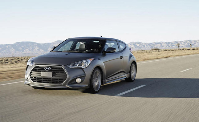2012 Hyundai Veloster Turbo Will Cost $21,950