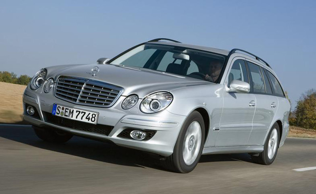 Mercedes E350 Wagon Recalled for Faulty Rear-Suspension
