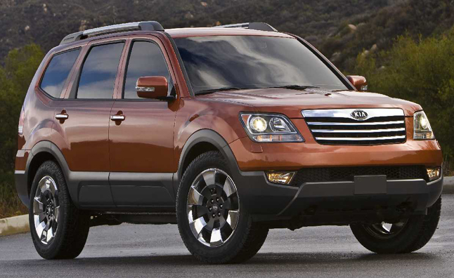 Kia Borrego Recalled Over Faulty Brakes