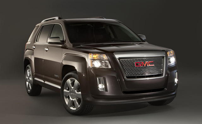 2013 GMC Terrain Denali Pricing Announced: $35,350