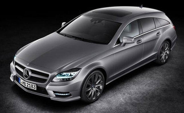 2013 Mercedes CLS Shooting Brake Leaked