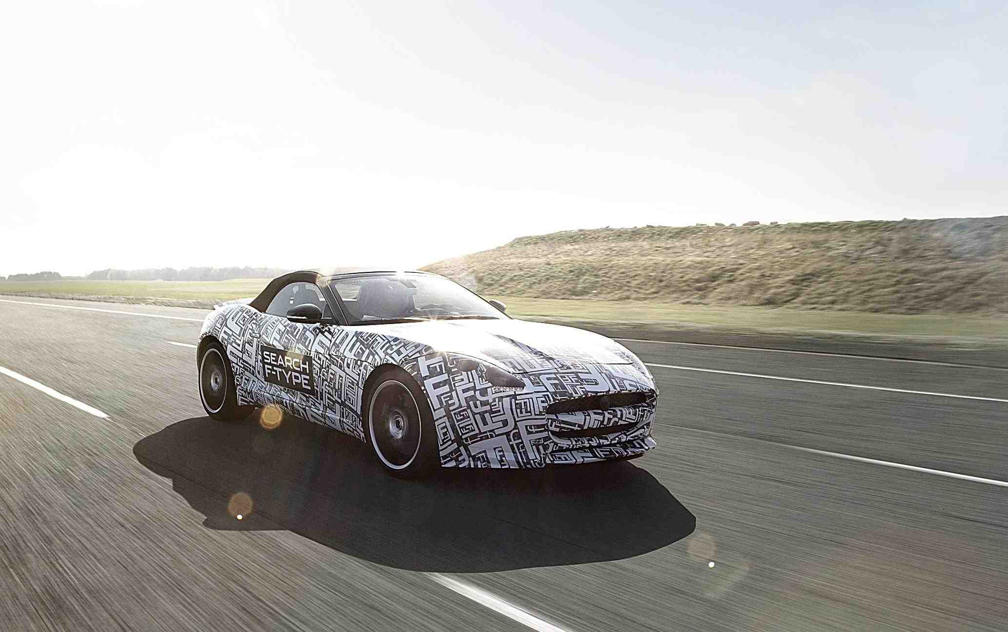 Jaguar F-Type Set for Goodwood Debut