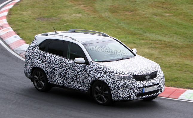 2014 Kia Sorento Spy Photos Show Off New Design
