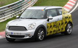 2014 MINI Countryman Coupe Caught Testing in Nurburgring Spy Photos