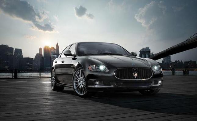 2013 Maserati Quattroporte to Use Ferrari-Built Supercharged V6, Turbo V8
