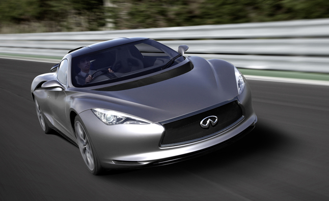 Infiniti Emerg-E Functional Concept Debuts at Goodwood