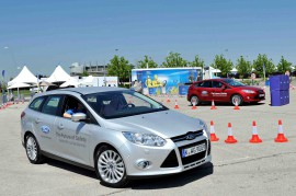 Visitors to Ford's 'Future of Safety' Tour