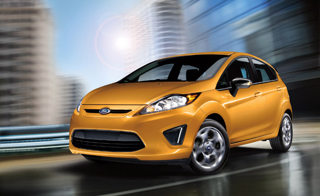 Ford Fiesta Gets Platinum Trim, Slightly Upgraded