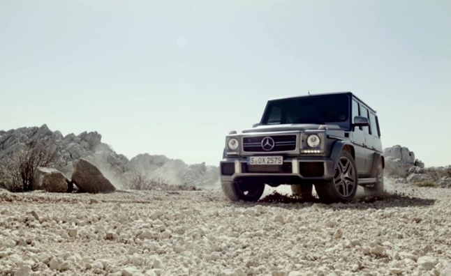 Mercedes-Benz G-Class Commercial Released