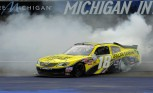 Toyota Camry Wins at Michigan 250: Joey Logano Driving