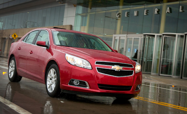 2013 Chevrolet Malibu Eco Earns Top Safety Ratings from NHTSA and IIHS