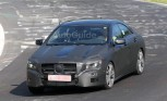 Mercedes CLA Caught On the Nurburgring in Spy Photos