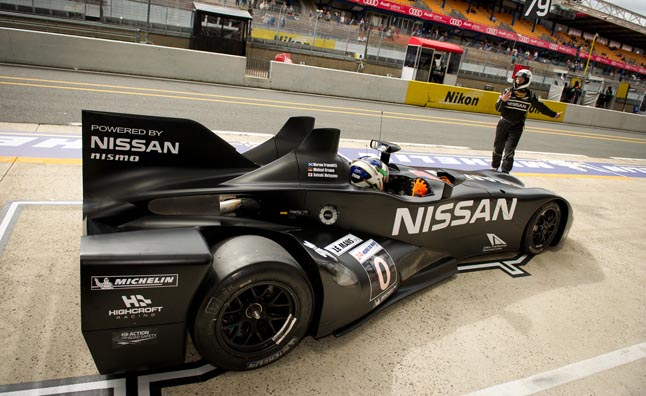 Nissan Delta Wing Le Mans Testing Cut Short After Accident