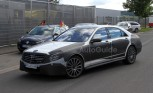 Mercedes S-Class AMG Spied with Sparse Camo