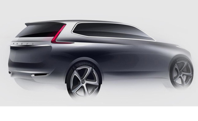 Volvo XC90 New Design Revealed in Sketches