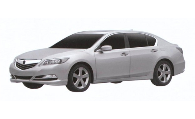 2013 Acura RLX Revealed in Patent Images