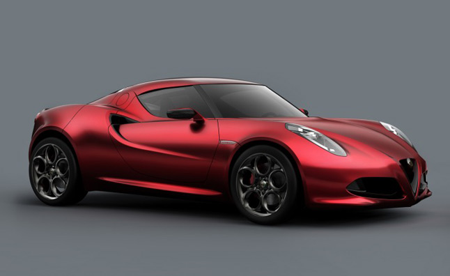 Alfa Romeo 4C Running Ahead of Schedule, Will Bow Next Summer