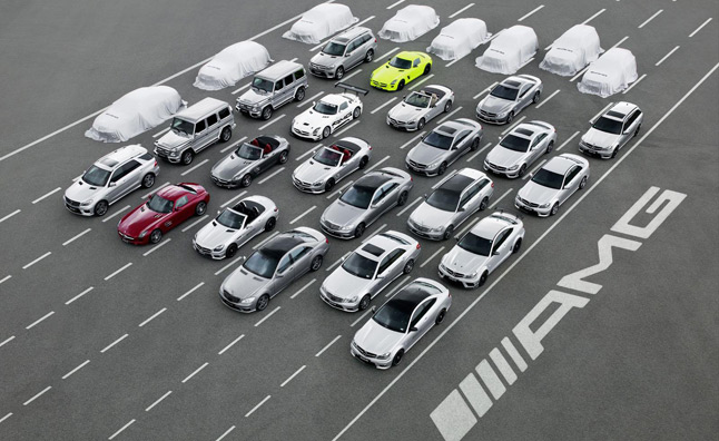 AMG Celebrates 45th Anniversary, Hints at Eight New Models