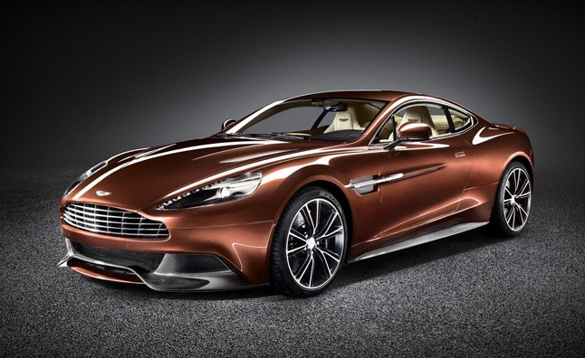 Aston Martin AM 310 Vanquish: Official Gallery and Video