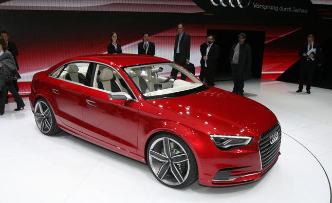 Audi A3 Sedan Confirmed for 2012 US Launch