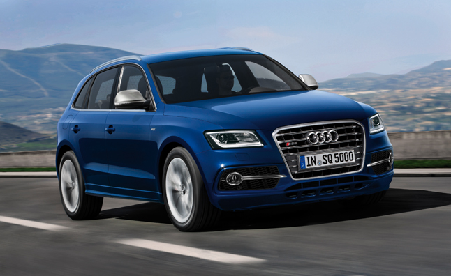 Audi SQ5 TDI to Debut at 24 Hours of Le Mans