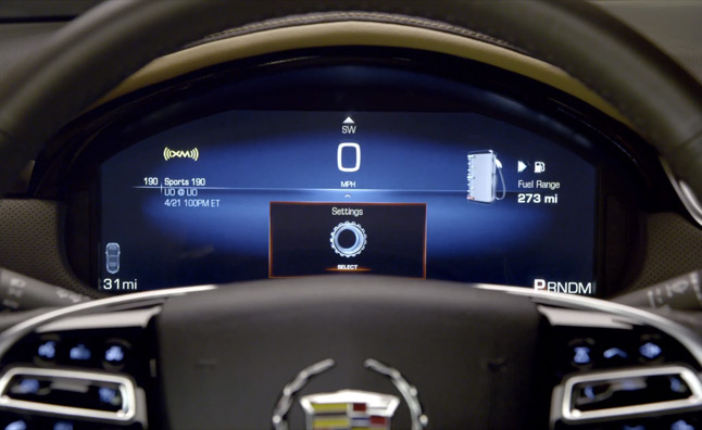 2013 Cadillac XTS Reconfigurable Gauges in Action – Video
